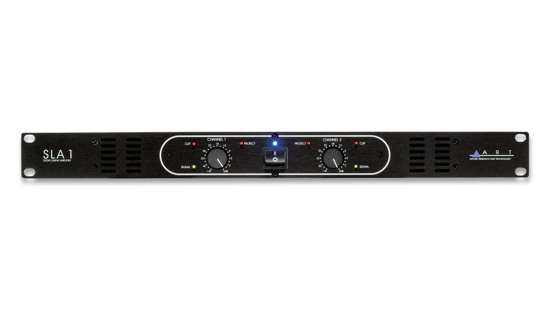 Sla 1 100w Power Amplifier Art Pro Audio Preamplifier Overview