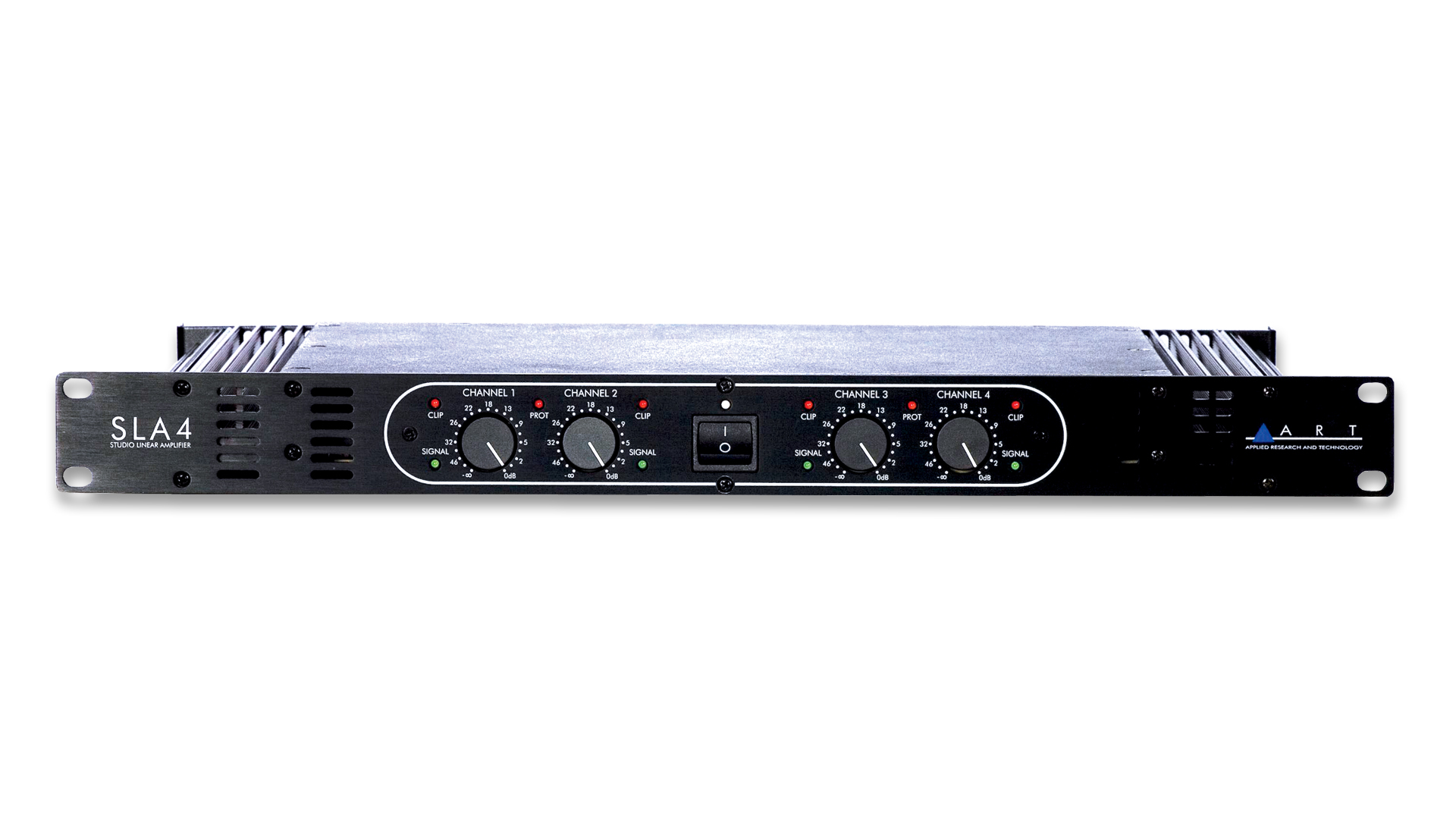 Sla 4 4x140w Power Amplifier Art Pro Audio Amplifiers Overview