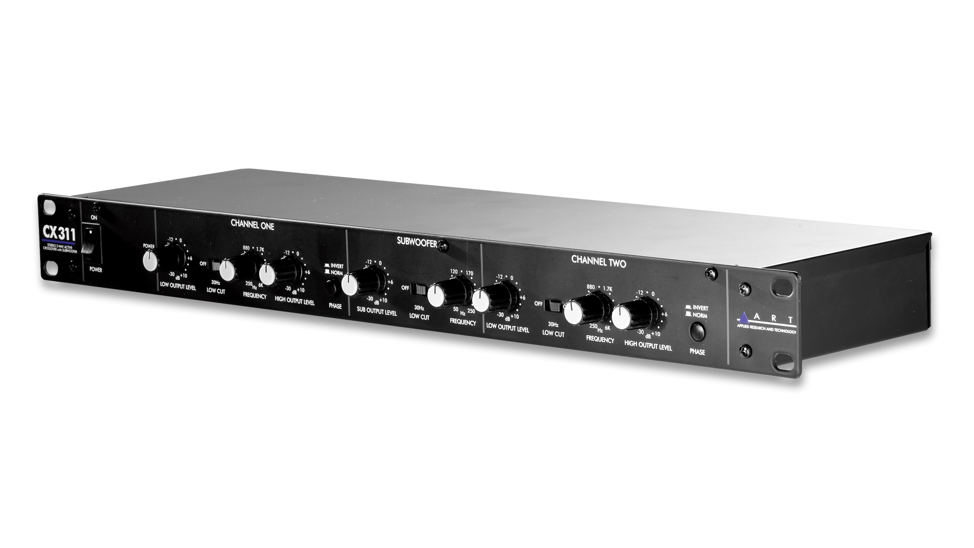 Cx311 2way Crossover With Subwoofer Out Art Pro Audio Elimination Of Common Signal From Stereo Overview Key Features Downloads