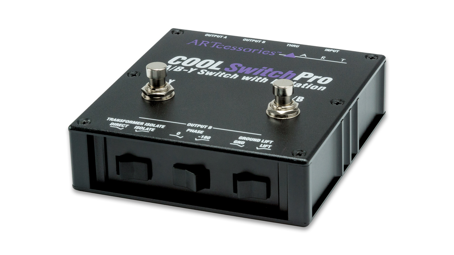 CoolSwitchPro – Isolated A/B-Y Switch – ART Pro Audio