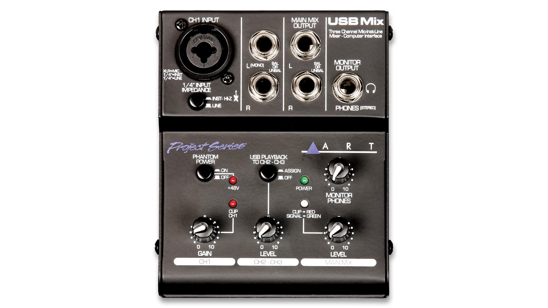 USB Mix – Project Series – ART Pro Audio