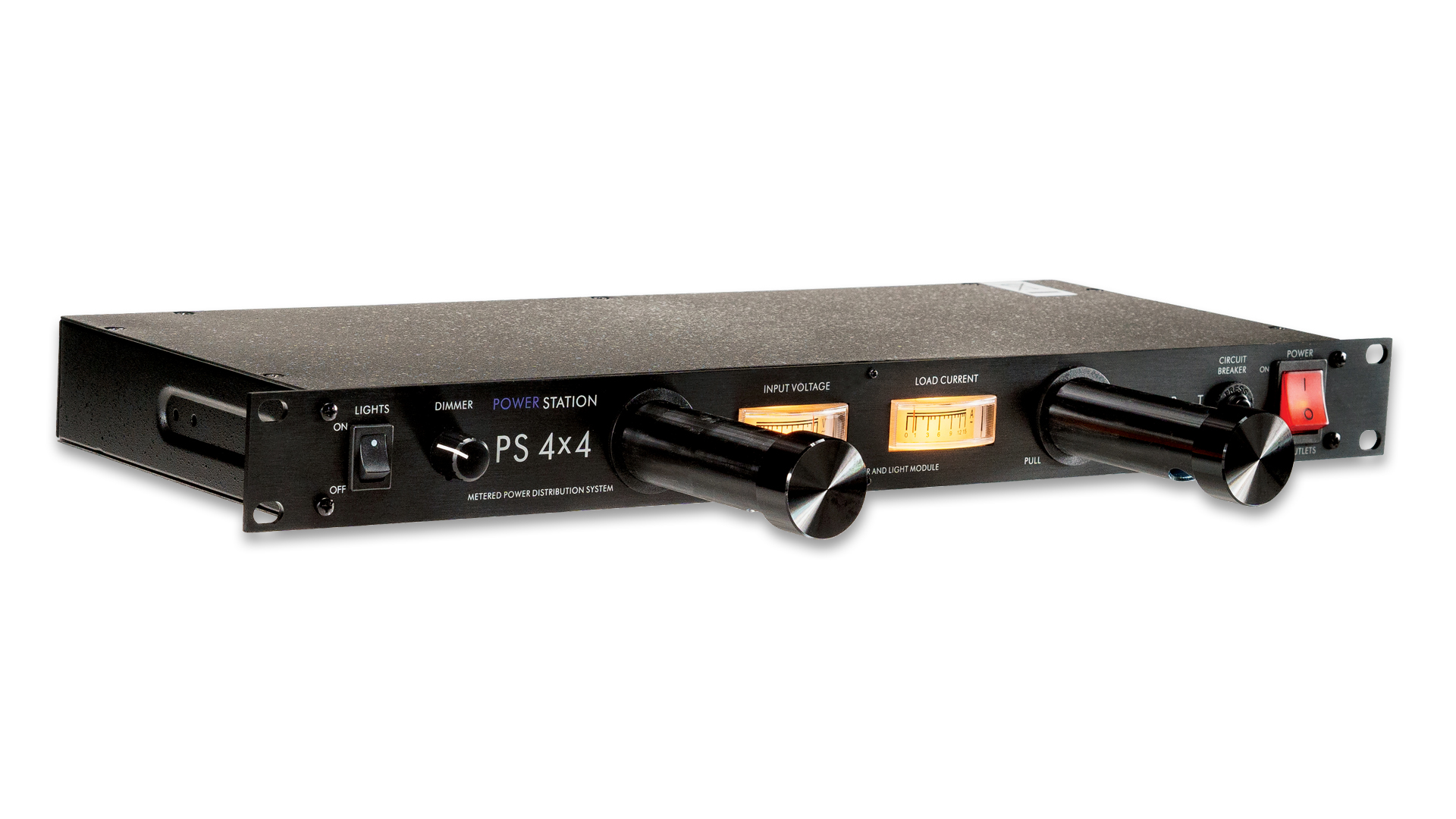 ART Pro Audio PS4X4PRO Dual LED Metered Power Distribution System Rackmount