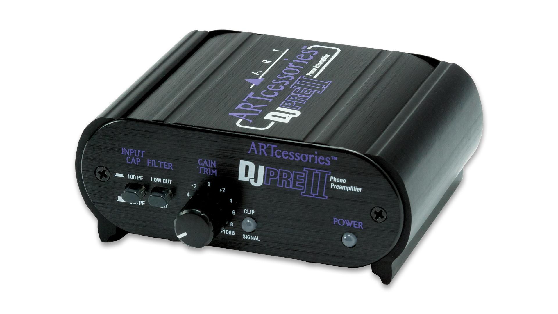 ART Pro Audio DJ PRE II Phono Preamplifier