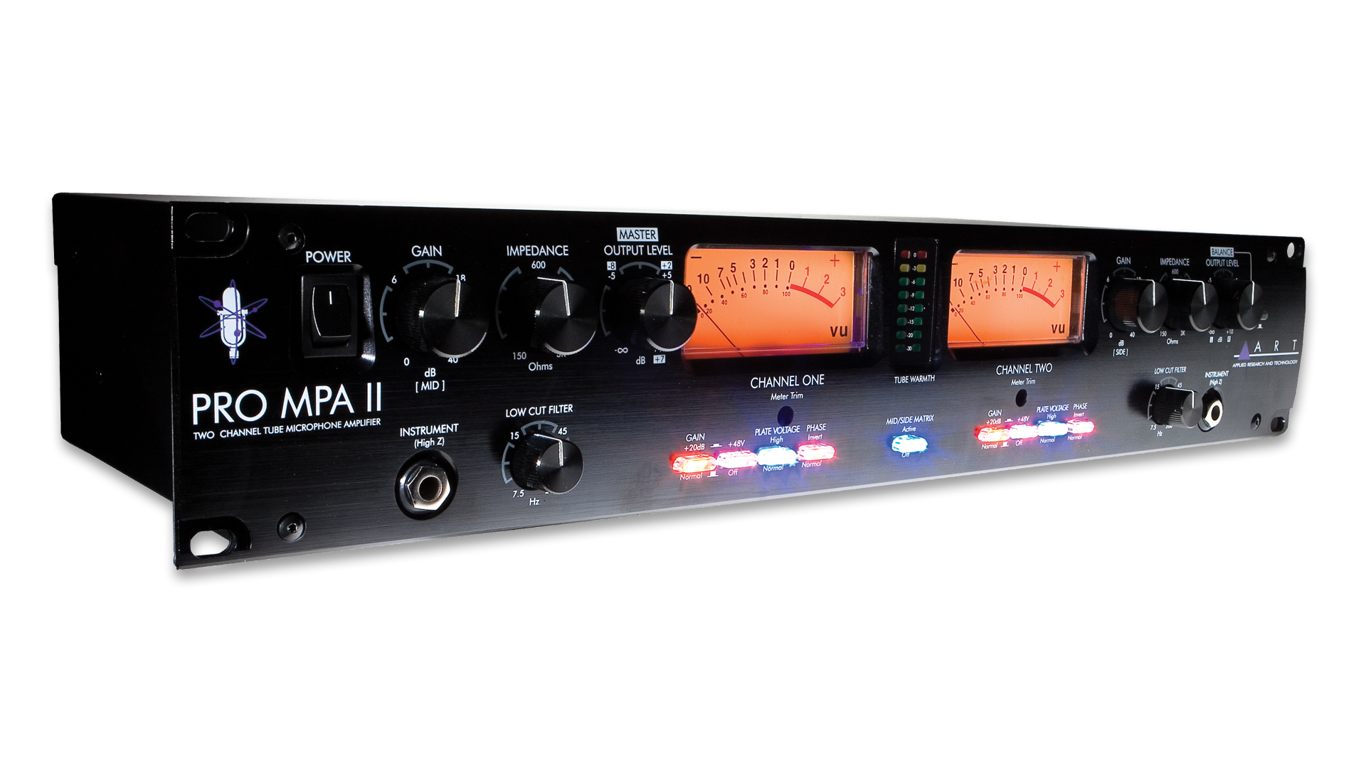 Pro Mpa Ii Two Channel Mic Preamp Art Audio Dynamic Preamplifier Overview Key Features Specifications