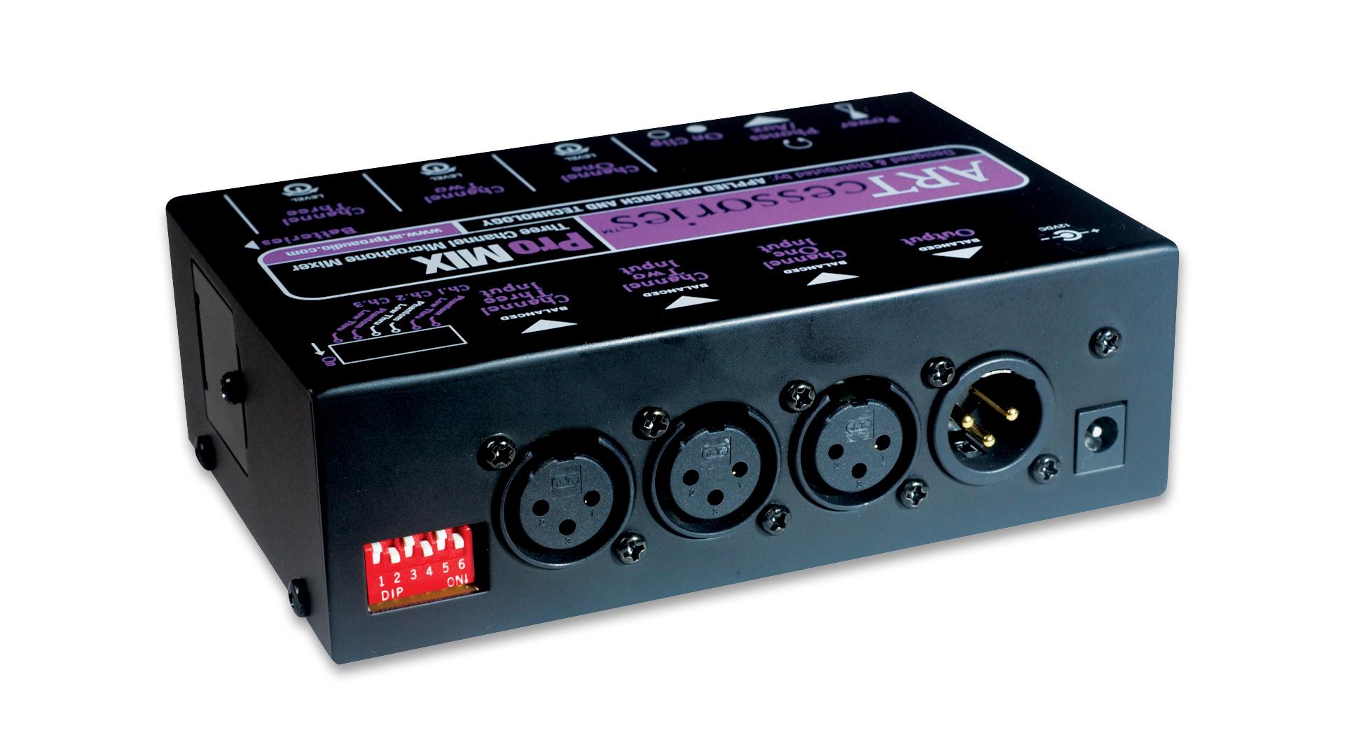 mixer audio promix