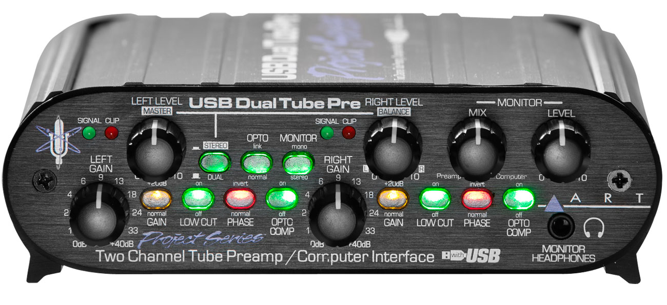 Art Tube Mp Project Series Preamp Review